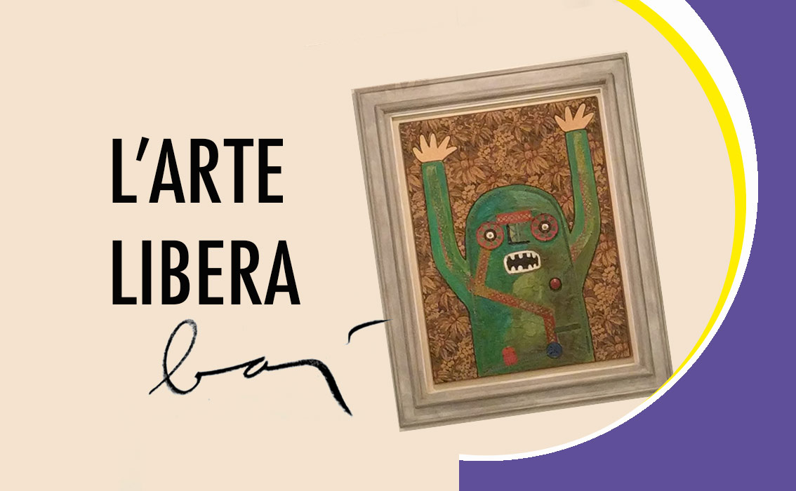 Arte libera Enrico Baj