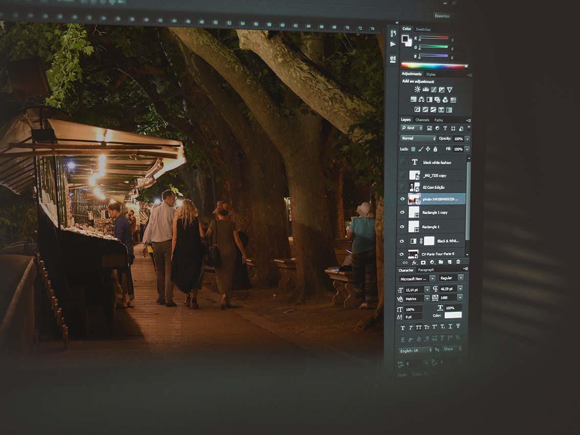 foto editing