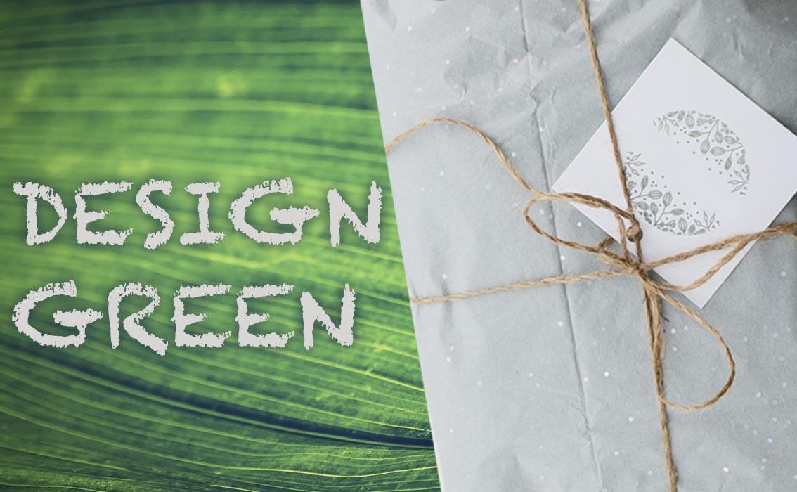 imballaggio ecosostenibile design green